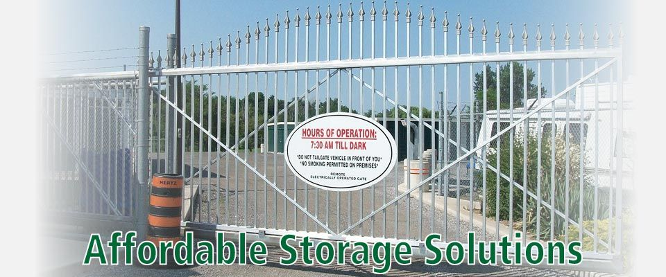 Affordable Storage Solutions | gate