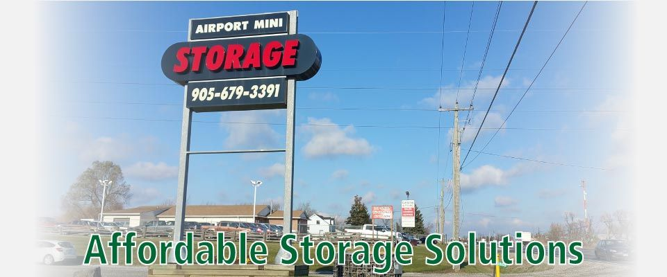 Affordable Storage Solutions | sign