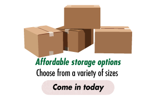 Affordable storage options